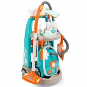 Jucarie Smoby Set curatenie aspirator electronic si troller