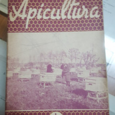 Revista Apicultura, 1 ianuarie 1957