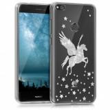Husa pentru Huawei P9 Lite (2017), Silicon, Silver, 40898.16
