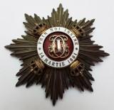 Coroana Romaniei - Comandoria mare ofiter tip II Civil- PlacaCoroana Romaniei