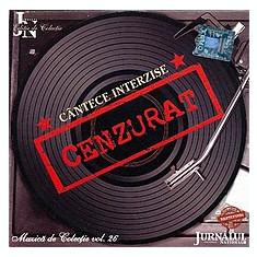 Cantece Interzise (CD - Jurnalul National - NM)