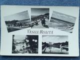 376 - Vasile Roaita / vedere multipla , mozaic / carte postala RPR necirculata, Fotografie
