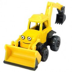 Excavator Bob Constructorul Action Team Scoop