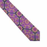 Cravata lila paisley Aiken, ONORE