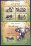 Cumpara ieftin DB1 Fauna Africana Sao Tome Elefanti MS + SS MNH, Nestampilat