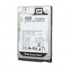 Hard disk Laptop WD Scotpio Black 160GB WD1600BJKT, 7200RPM, Buffer 16MB, SATA...