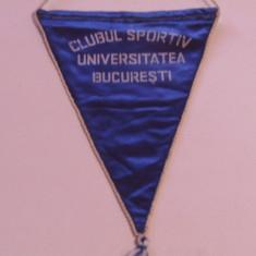 Fanion sportiv (vechi) - CS UNIVERSITATEA BUCURESTI