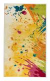 Cumpara ieftin Covor Modern & Geometric Zamira, Multicolor, 67x120 cm, Dreptunghi, Polipropilena, Living, Decorino