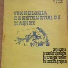 Tehnologia constructiei de masini