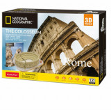 Cumpara ieftin Puzzle 3D + Brosura Colosseum, 131 piese, CubicFun