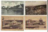 lot patru carti postale Ocna Sibiului Vizakna Salzburg perioada interbelica