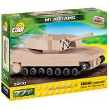 Cumpara ieftin Set de construit Cobi, Small Army, M1 Abrams Nano Tanc (77 pcs)