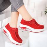 Pantofi dama Piele casual rosii Visva