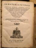 IN MATERIA FEUDALI_FEUDALIA CONSILIA_Alberti Bruni_Zilleti_Veneția 1548