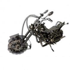 MACHETA METAL MOTOCICLETA MARE