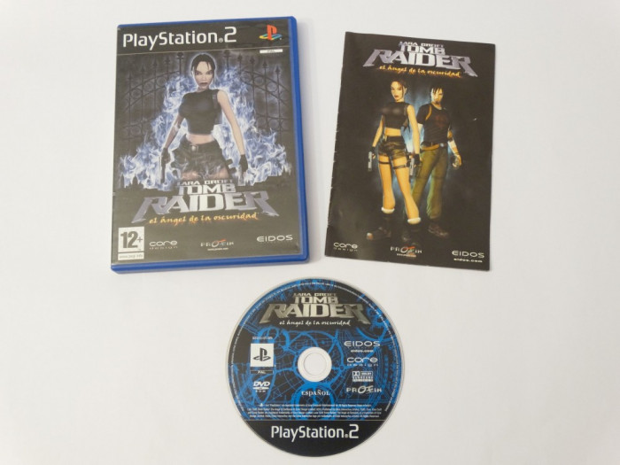 Joc Playstation 2 - PS2 - Lara Croft Tomb Raider The Angel of Darkness