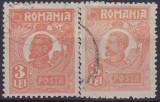 TIMBRE FERDINAND 2 x 3 LEI, Regi, Stampilat