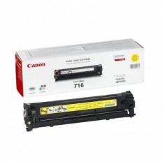 Toner original Canon CRG716Y Yellow pentru LBP5050 LBP5050N