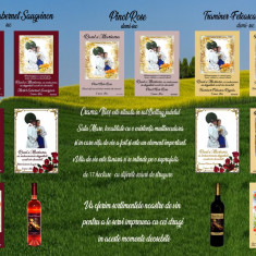 Sticle Vin Personalizate