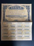 obligatiune tramvaie Braila 1904