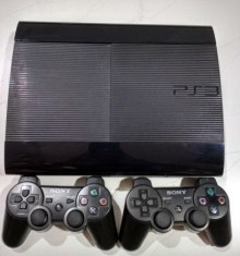PS3+ 38 jocuri modat+2 manete+GTA 5 ,Fifa 19, Minecraft,NFS,007,Blur foto