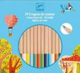 Creioane colorate natur Djeco