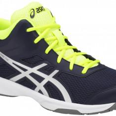 Pantofi de volei Asics Gel-Tactic GS C732Y-400 pentru Copii, 35.5, 36, 37, 37.5, 38, 39, 39.5, Albastru