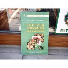 Cultura legumelor vara-toamna , Victor Popescu , 2000