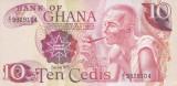 Bancnota Ghana 10 Cedis 1978 - P16f UNC