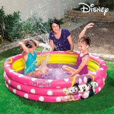 Piscina Gonflabila Minnie Mouse cu 3 Inele