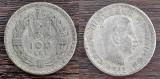 (A128) MONEDA DIN ARGINT ROMANIA - 100 LEI 1932, REGELE CAROL II, MONET. LONDRA
