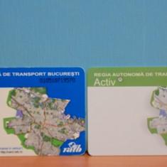 CARDURI ACTIV SI MULTIPLU - REGIA AUTONOMA DE TRANSPORT BUCURESTI