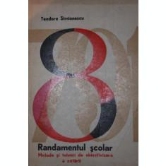 RANDAMENTUL SCOLAR - TEODORA SIMIONESCU