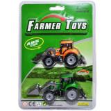 Set Tractor , 2 piese, Multicolor,19x27,5cm,3 ani +