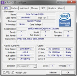 CPU Procesor PC Intel Pentium D 820 2.8Ghz/2MB/800mhz socket 775 upgrade P4 dual