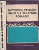 Metodica Predarii Limbii Si Literaturii Romane In Scoala Generala Si Liceu
