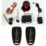 Alarma auto K606 cu 2 telecomenzi Premium