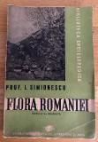 Prof I. Simionescu - Flora Romaniei