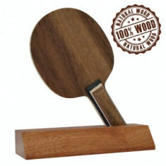 Trofeu Lemn natural Tenis de Masa (Abachi, Koto, Nuc American, Mahoni) 15,3 cm
