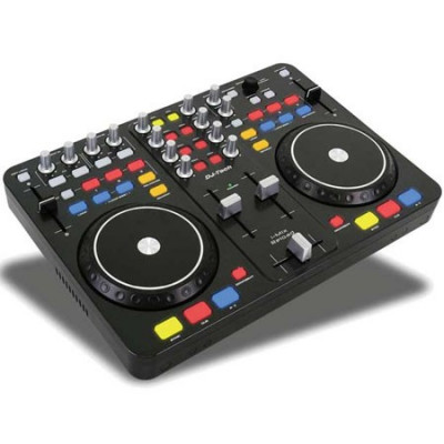 DJ MIXER & SCRATCH CONTROLER + DJ SOFWARE foto