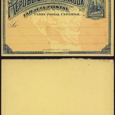 Nicaragua - Postal History Rare Old Postal stationery UNUSED DB.194
