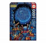 Cumpara ieftin Puzzle Neon Astrologer, 1000 piese, Educa