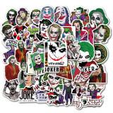 Set Stickere 50 buc bicicleta, telefon, auto, laptop The Joker