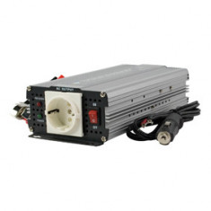 Invertor de tensiune, 12V - 220V AC, 300W, unda pura - 201058