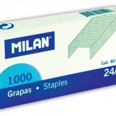 Capse hartie 24/6 Milan