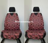 Huse scaun auto tip maieu Army Caramiziu