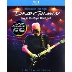 David Gilmour Remember That Nights (bluray)