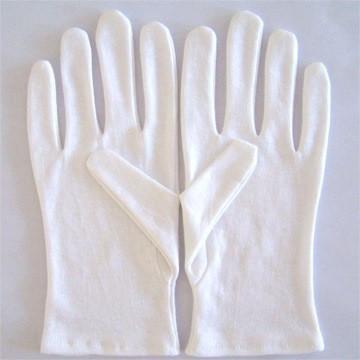 Manusi din bumbac albe pentru ucenici foto