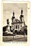 Targu Mures Marosvasarhely statuia Kossuth szobor din unghi lateral,apr1915 RARA