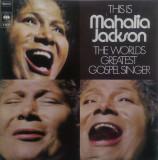 VINIL 2XLP Mahalia Jackson – This Is Mahalia Jackson The World's - VG++ -